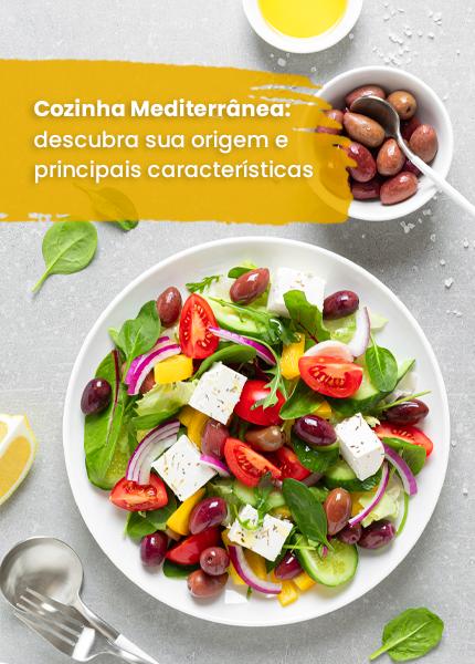 cozinha mediterrânea