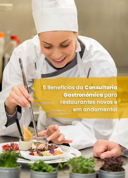 benefícios da consultoria gastronômica